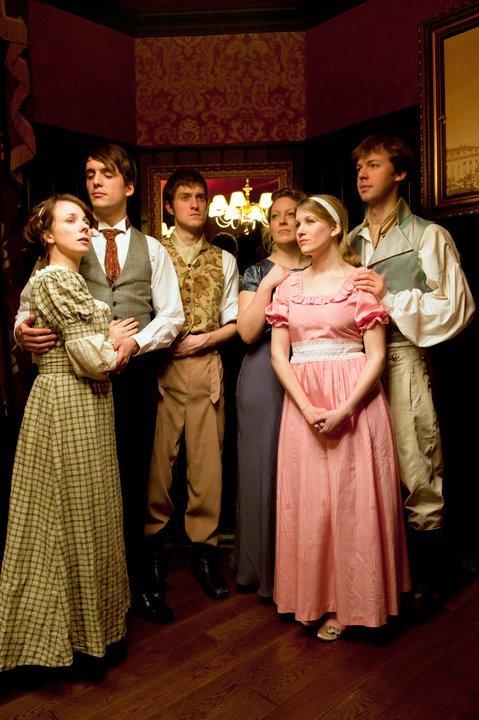 Comedy Preview: Austentatious, An Improvised Novel @ Wheatsheaf