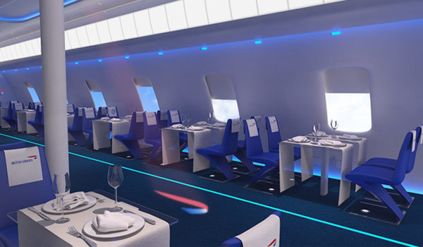 New Shoreditch Pop-Up Restaurant...In A Plane Cabin