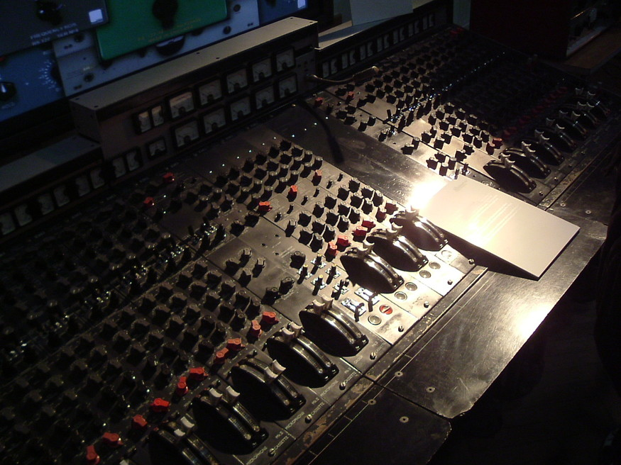 The Beatles Abbey Road vintage equipment