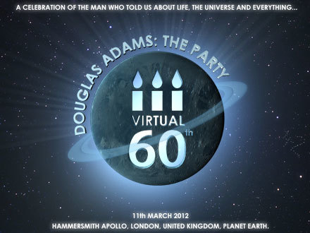 Preview: Douglas Adams 60th Birthday Party