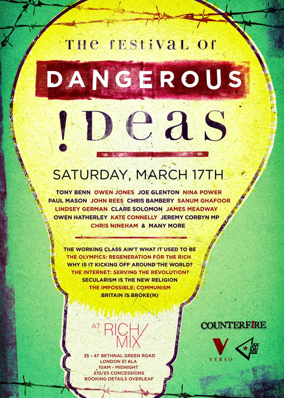 Festival of Dangerous Ideas / Sat 17th March