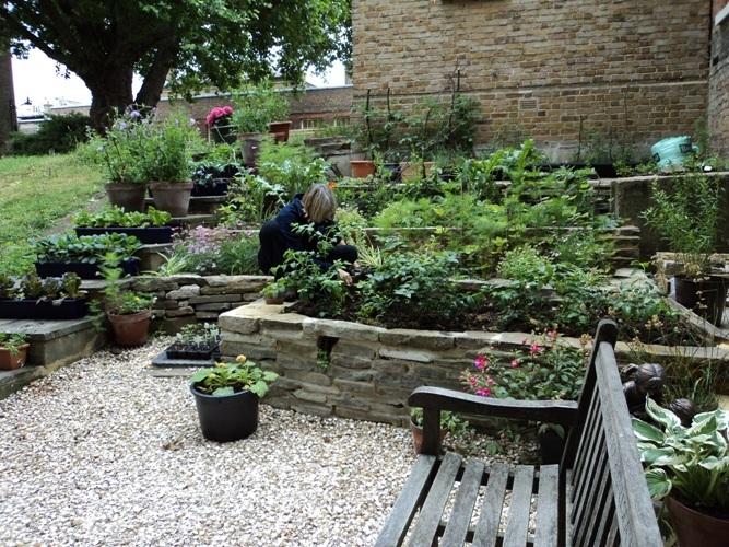 Runner up: The Chelsea Hospital garden of the charity Gardening Leave