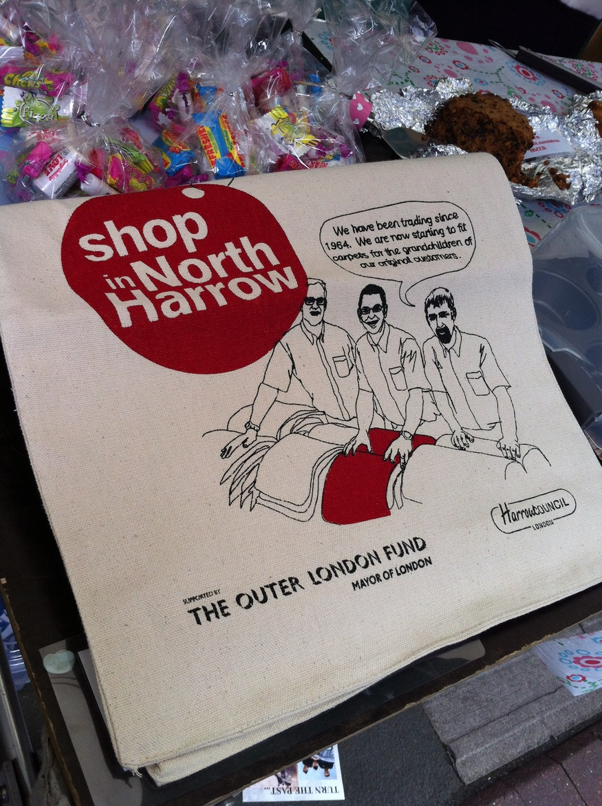 Free Harrow shopping bags
