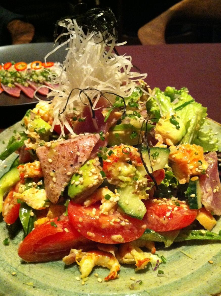 House Aquarium Salad