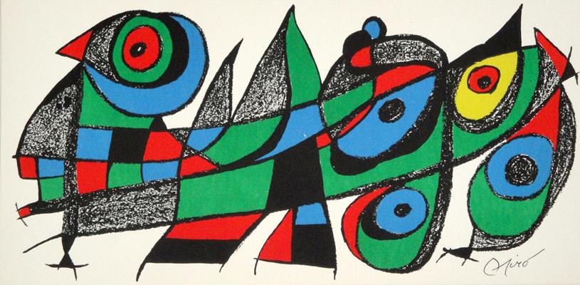 Joan Miro 'Miro Sculptor, Japan'.  From The Fine Art Partnership