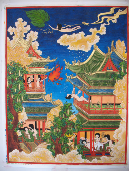 Song-nyeo Loo 'Buddhist Painting'. From Art Chinese