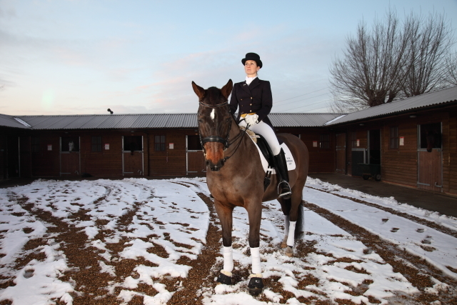 Dressage at Lee Valley Riding Centre by Jo Sealy