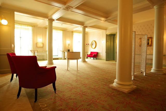 The evocative Love Room in Victoria Revealed is dedicated to telling the story of Victoria and Albert's romance