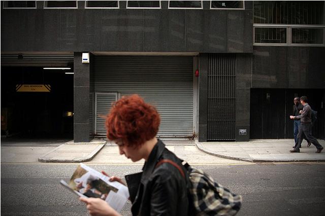 Read-walking by Mark Massey