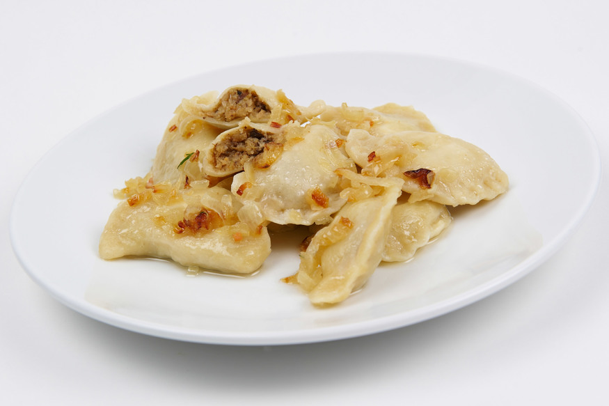 Pierogi - dumplings at Mamuska!