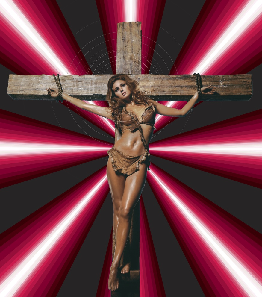 Raquel Welch on Cross, James 'Dalek' Marshall