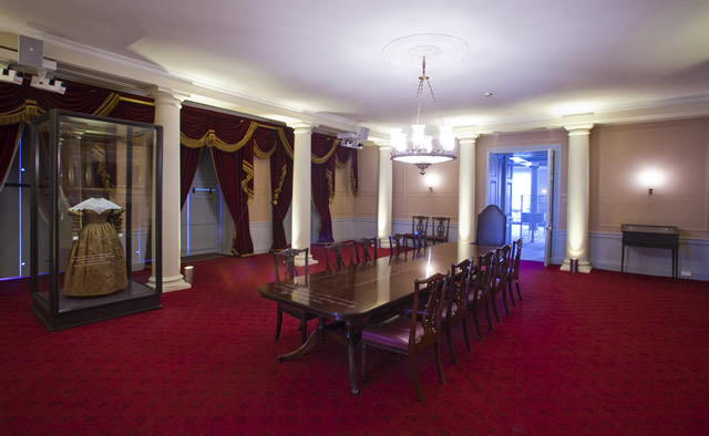 The intimidating Red Saloon where Victoria first met her Privy Council on 20 June 1837, aged just 18, is now newly restored