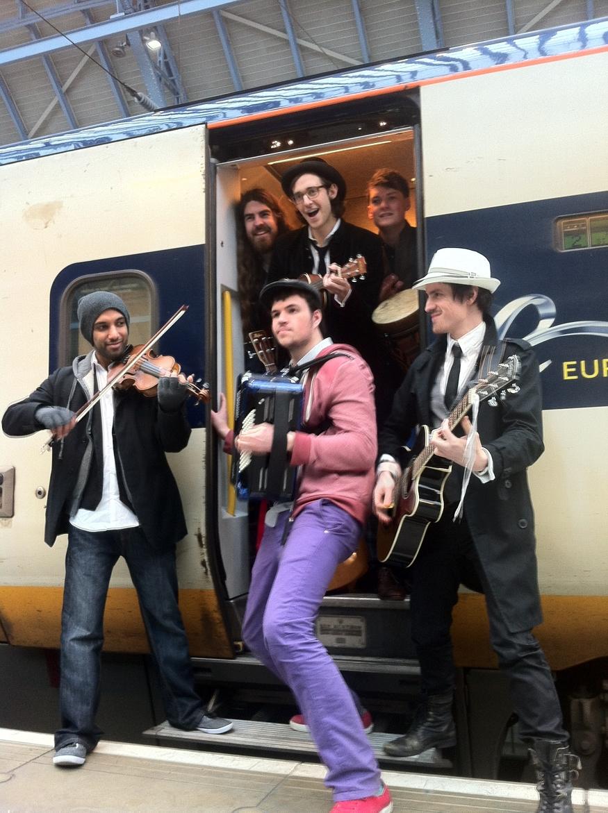 All aboard the Eurostar