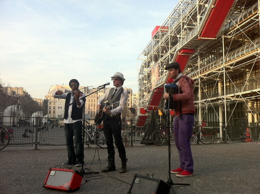 Ze Trio at the Pompidou