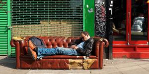 The Friday Photos: Londoners Sleeping