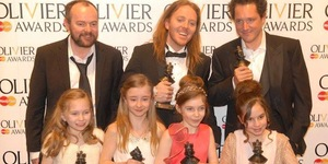 Matilda The Musical Wins Record-Breaking Seven Awards At The Olivier Awards With MasterCard