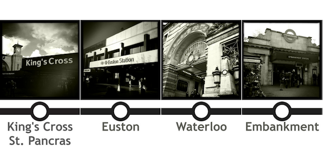 Life On The Northern Line: 50 Photos Of Tube Stations