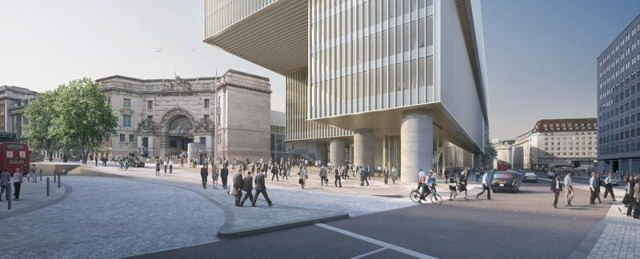 New Public Piazza For Waterloo Station