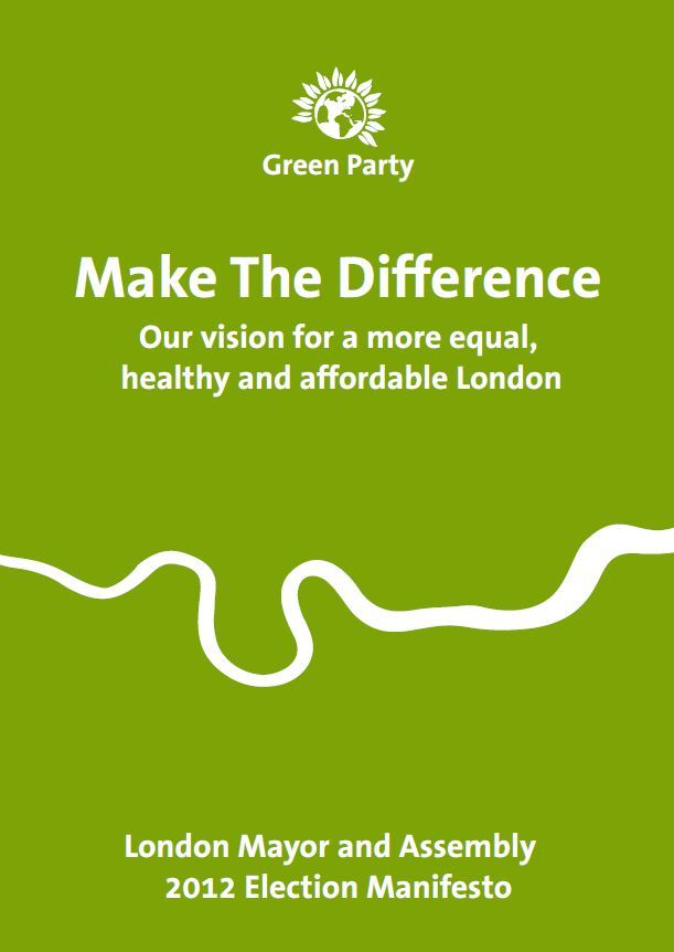 Green Election Manifesto: Jenny's Agenda