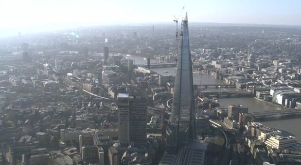 Video: London From The Air