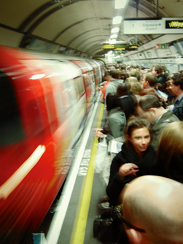 Occupy's Next Destination: The Tube