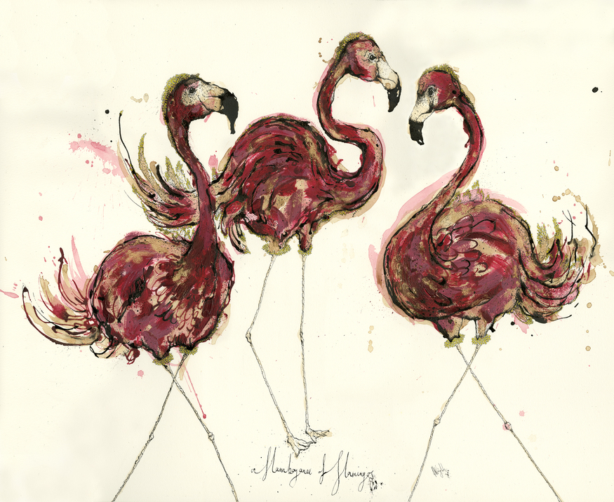 Anna Wright, A Flamboyance of Flamingos