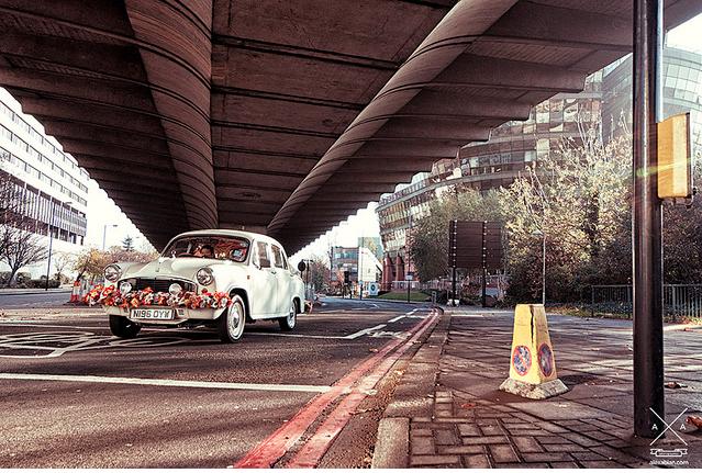 Just a wedding car by Alex Abian