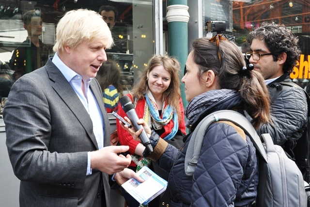 Boris Goes To Borough Market