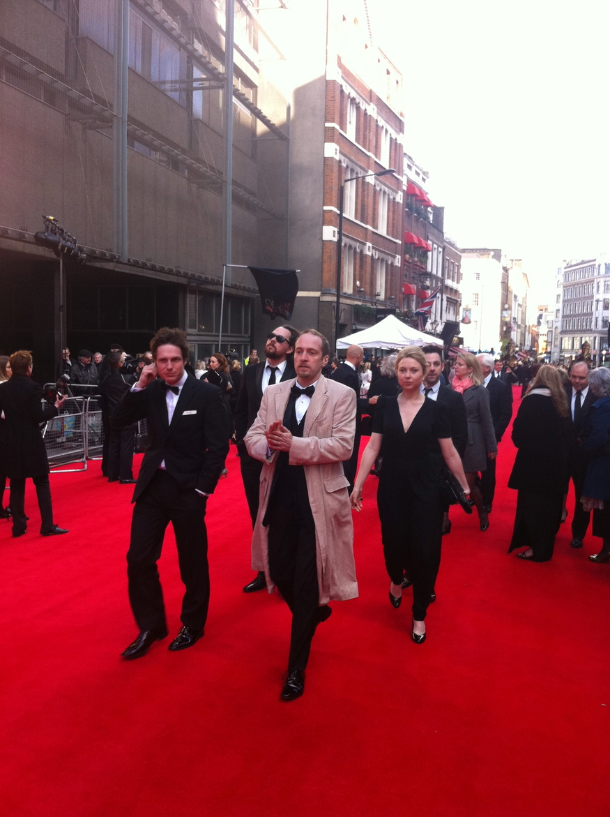 Derren Brown on the red carpet by Zoe Craig