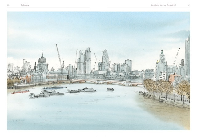 Preview: London, You're Beautiful By David Gentleman