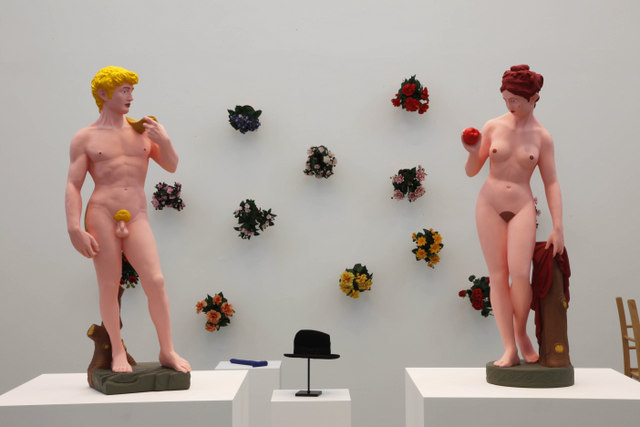 Installation view, Hans-Peter Feldmann, Serpentine Gallery. © 2012 Jerry Hardman-Jones.