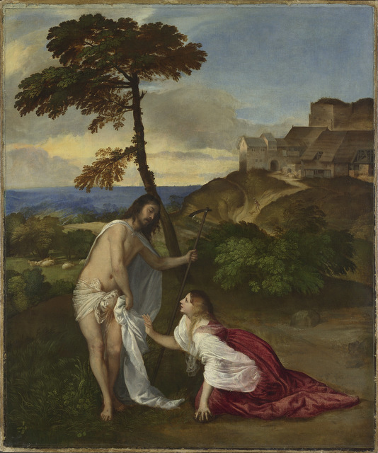 Titian, Noli me Tangere. © The National Gallery, London