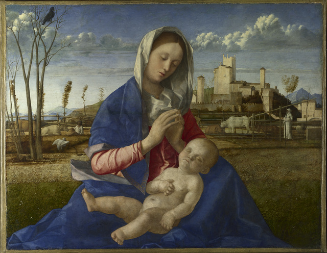 Giovanni Bellini, The Madonna of the Meadow. © The National Gallery, London