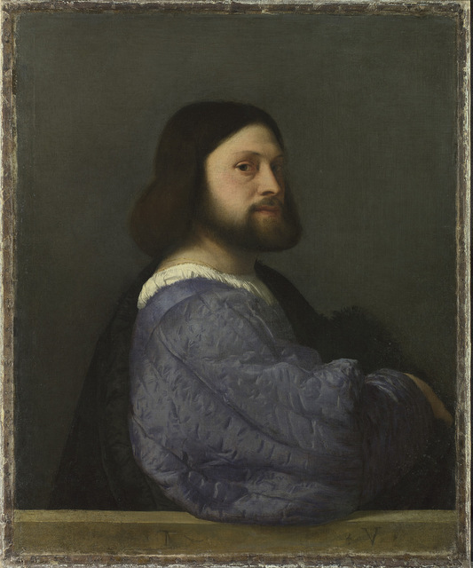 Titian, Portrait of Gerolamo (?) Barbarigo. © The National Gallery, London