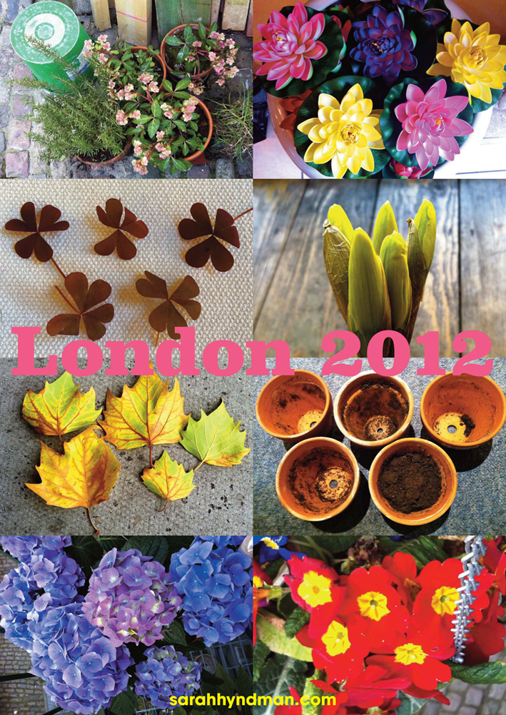 Thinking about Chelsea Flower Show by Sarah Hyndman