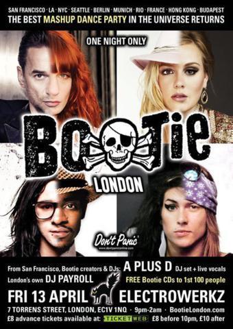 Club Watch: Bootie London @ Electrowerkz