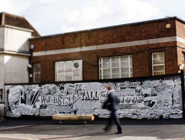 London Artists: Vic Lee's Walthamstow Mural