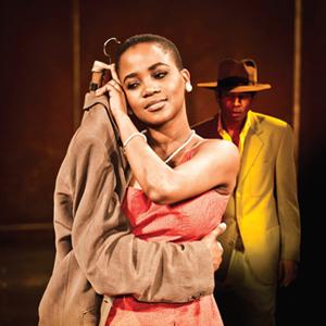 Strange suitor: Nonhlanhla Kheswa in The Suit