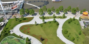 New-Look Jubilee Gardens Open In Time For Jubilee
