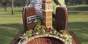 Grab A Free Lunch, And See Landmarks Made From Food