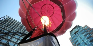 Take A Balloon Ride In Broadgate