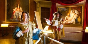 Preview: Life Drawing Night @ Hampton Court Palace