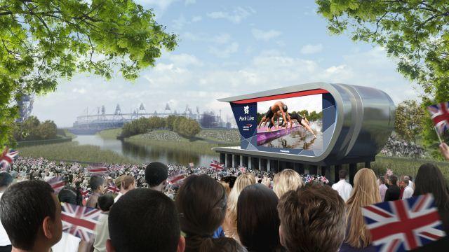 Olympics Park Spectator Site Revealed