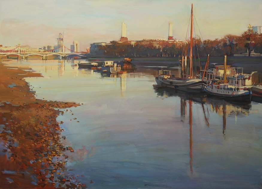 Luke Martineau, The Thames and Battersea Power Station