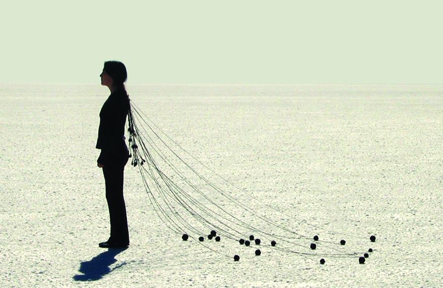 Aruma - Sandra De Berduccy, 'Migracion'. Image courtesy of ESCALA