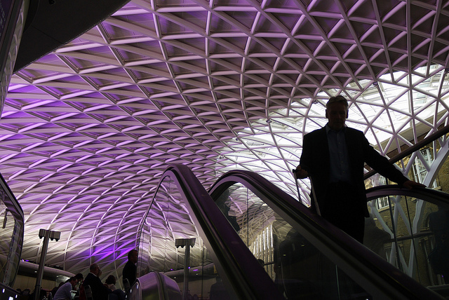 Coming up to King's Cross, by bradman334