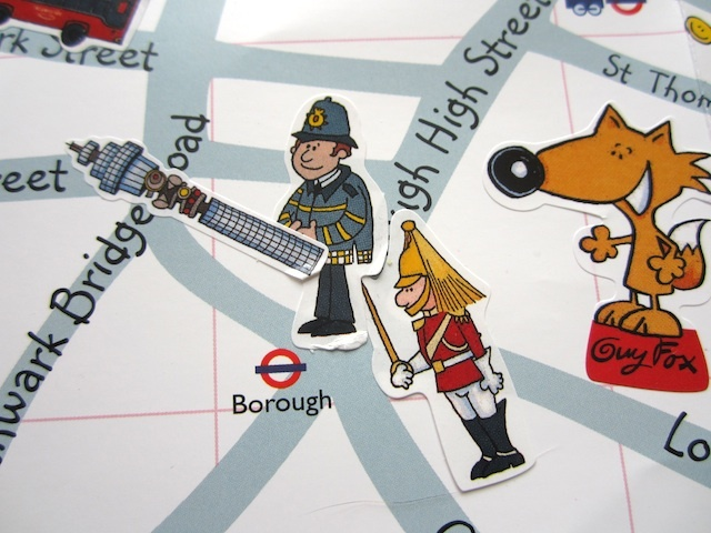 Create Your Own London Map