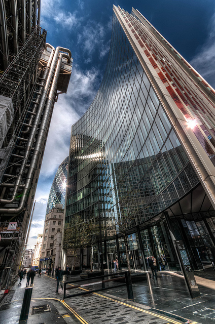 Acres of glass in the City, by tonybill