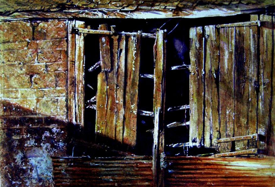 David Poxon, Barn at Hill End