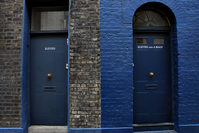 Eleven and eleven-and-a-half Fournier Street, by richwat2011